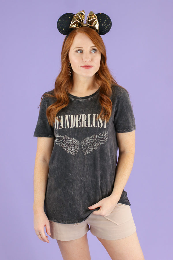 Wanderlust Graphic Top - FINAL SALE - Madison and Mallory