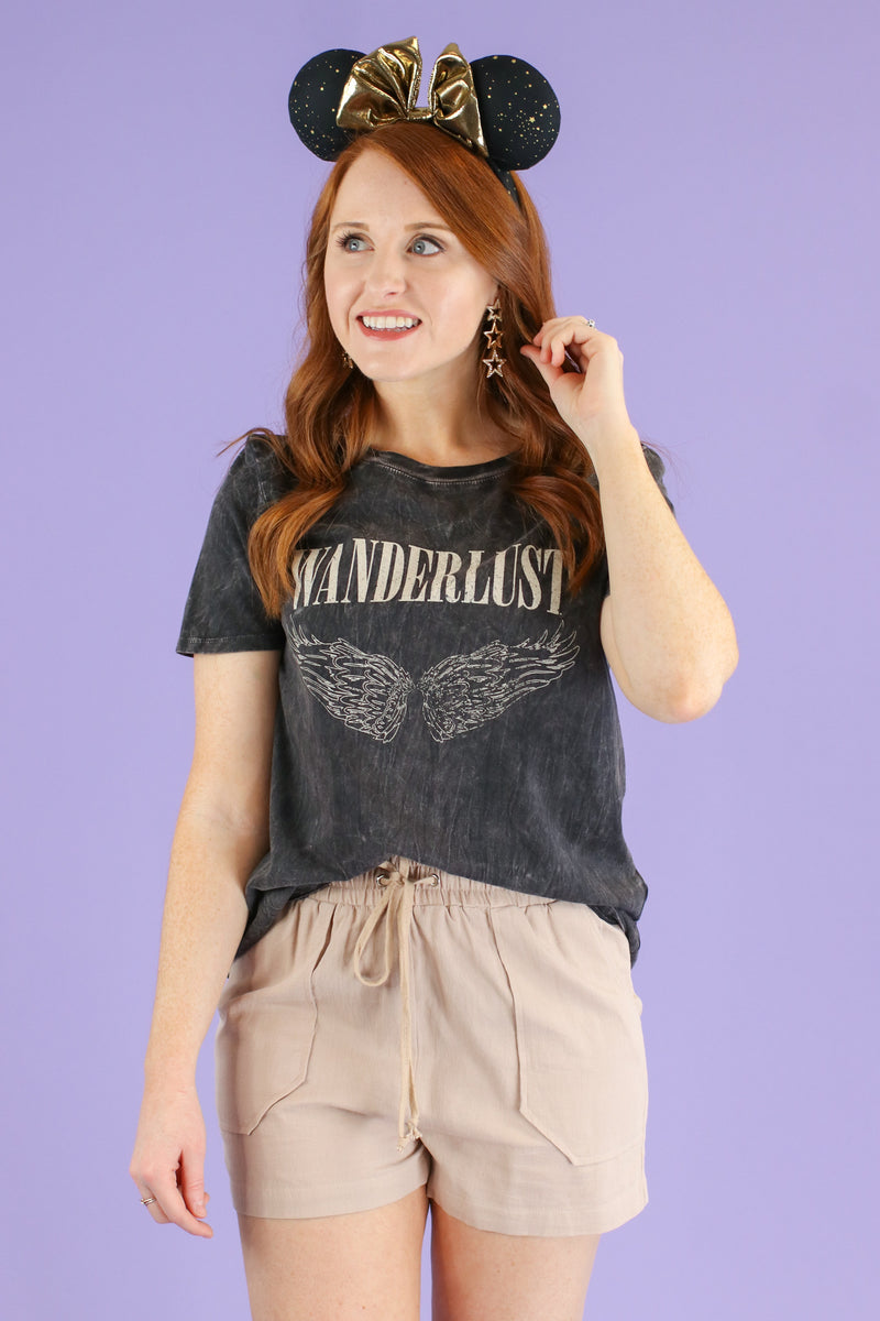 Wanderlust Graphic Top - Madison and Mallory
