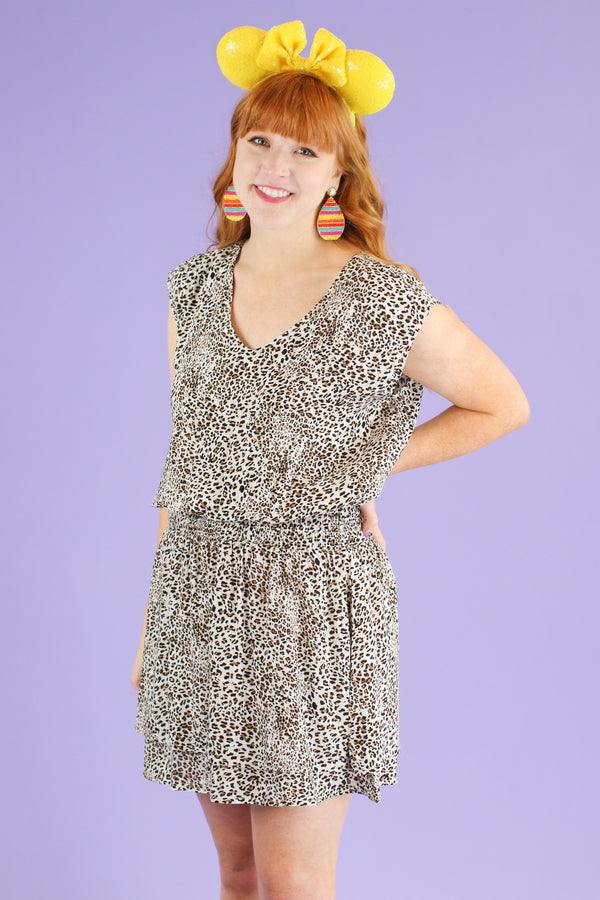 Diego Leopard Print Dress - Madison and Mallory