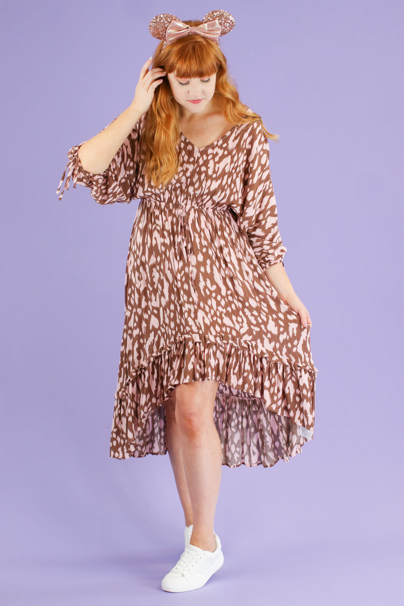 Fierce Potential Animal Print Dress | CURVE - Madison and Mallory