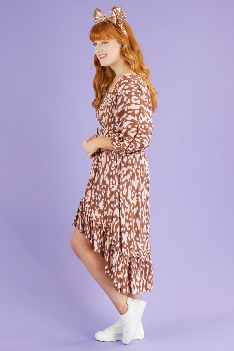 Fierce Potential Animal Print Dress | CURVE - FINAL SALE - Madison and Mallory