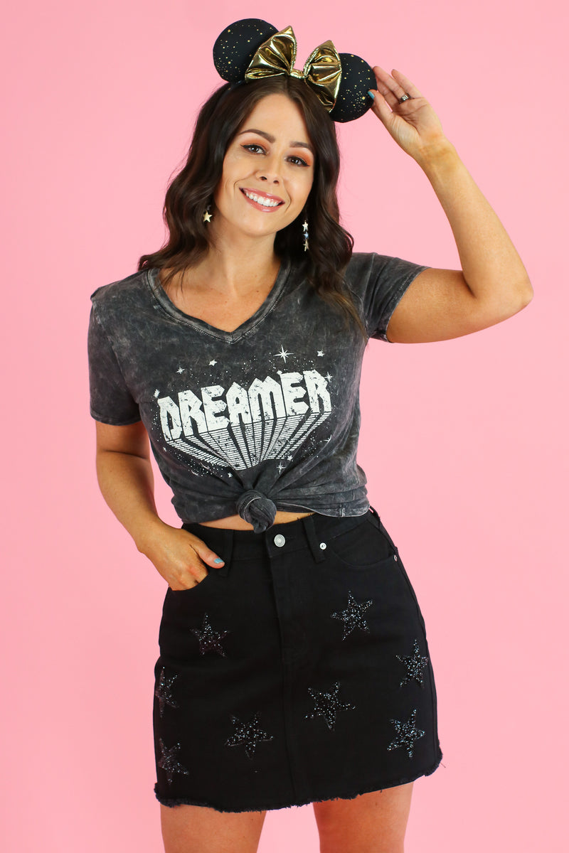 Retro Dreamer Graphic Top - Madison and Mallory