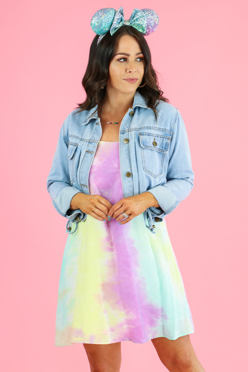 Easy Going Tie Dye Dress - Madison and Mallory