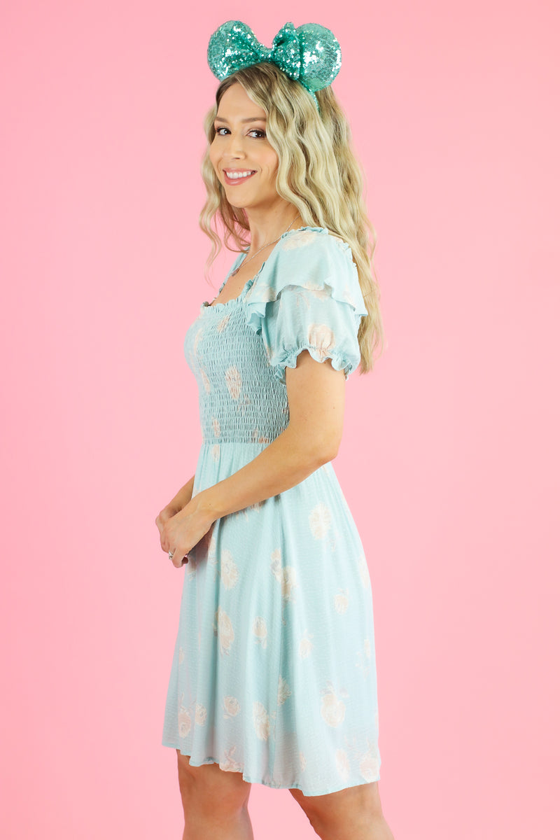 Here Flora Good Time Smocked Dress - Madison and Mallory