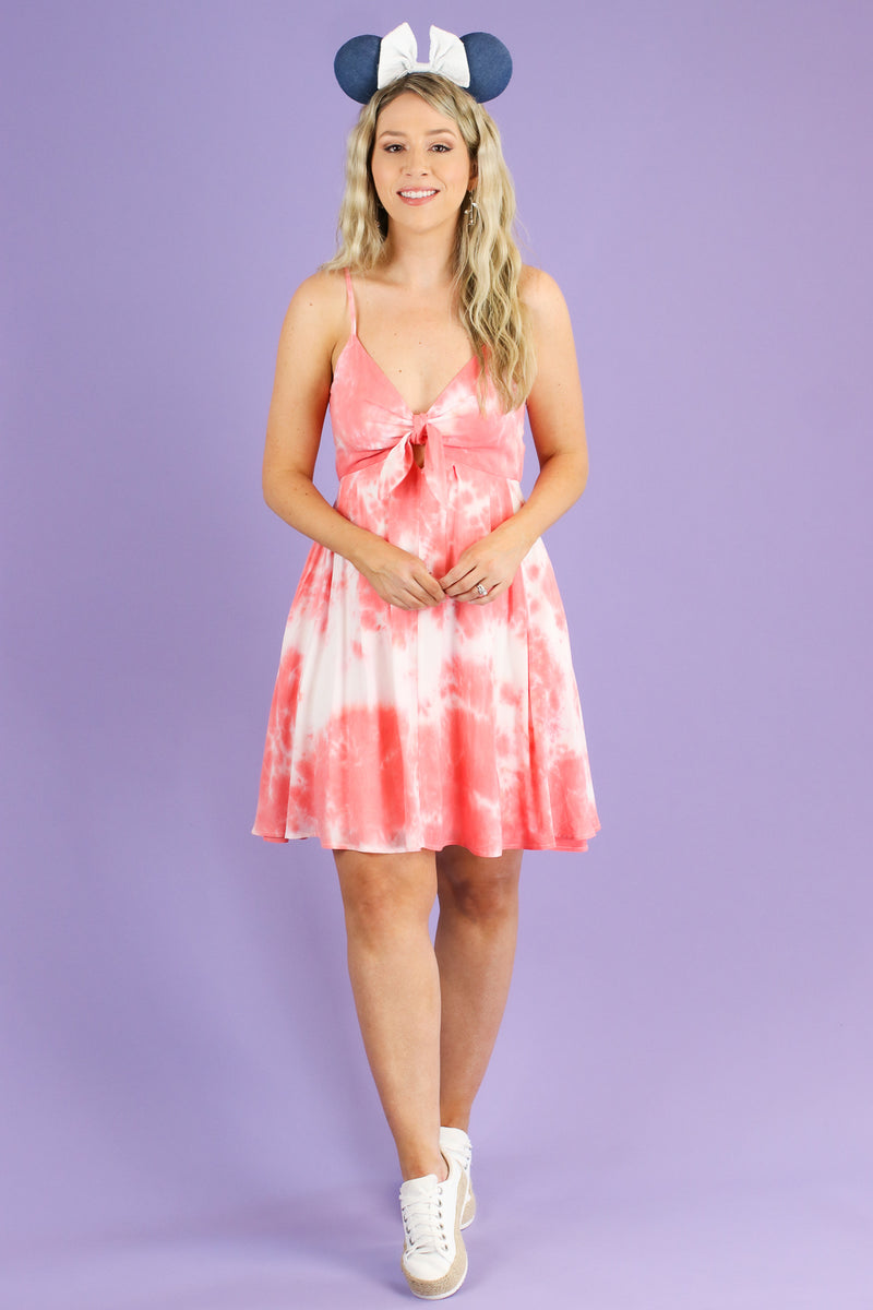 Never Going Home Tie Dye Dress - Madison and Mallory
