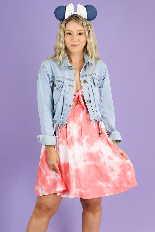 Never Going Home Tie Dye Dress - FINAL SALE - Madison and Mallory