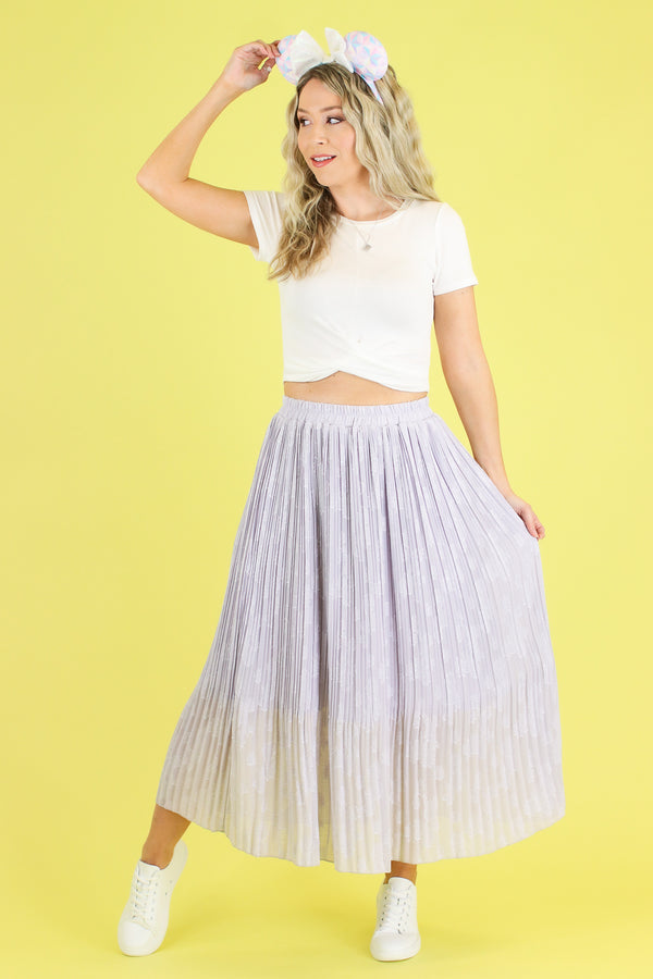 Stroke of Midnight Midi Skirt - FINAL SALE - Madison and Mallory