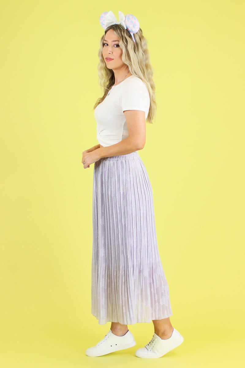 Stroke of Midnight Midi Skirt - Madison and Mallory