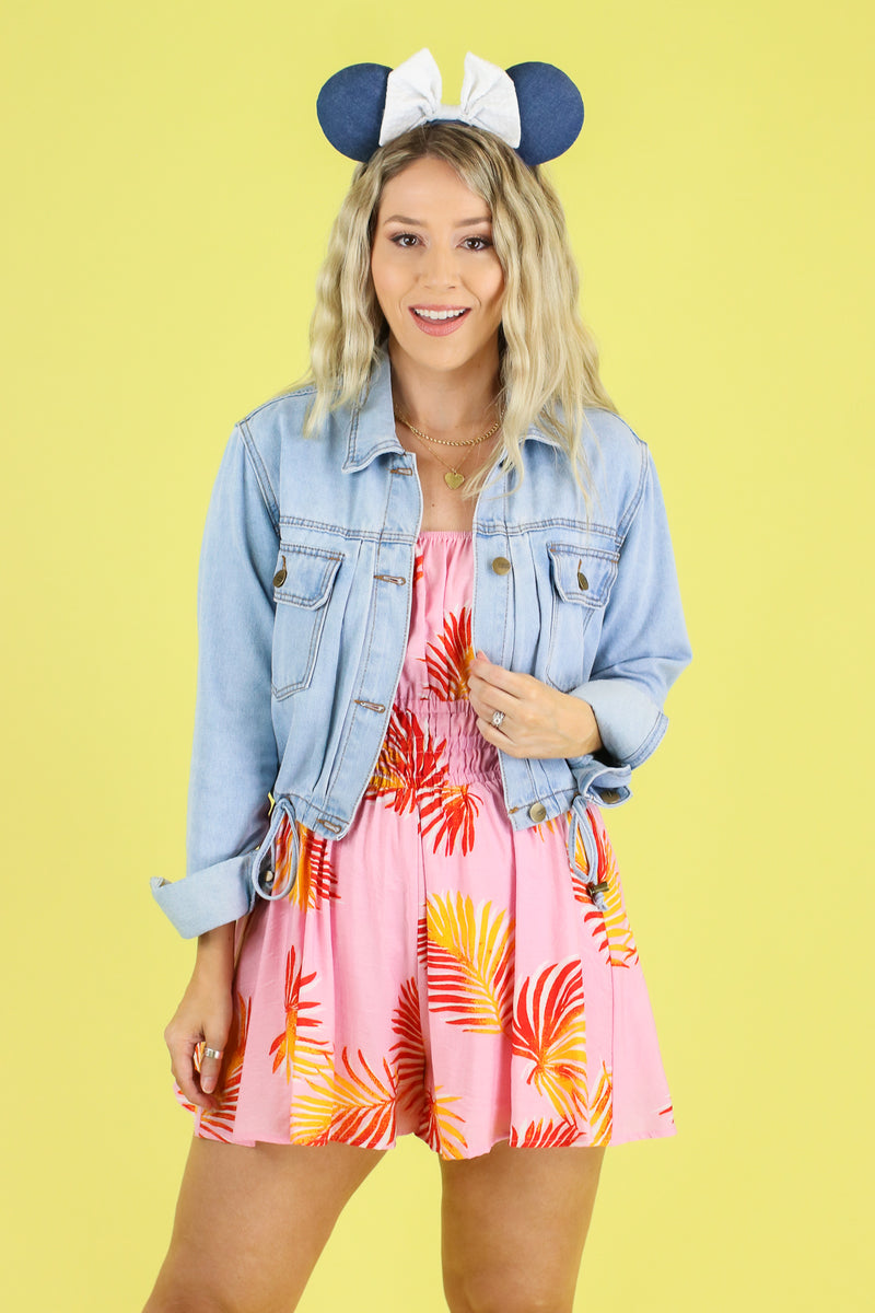 Breeze and Thanks Printed Romper - Madison and Mallory