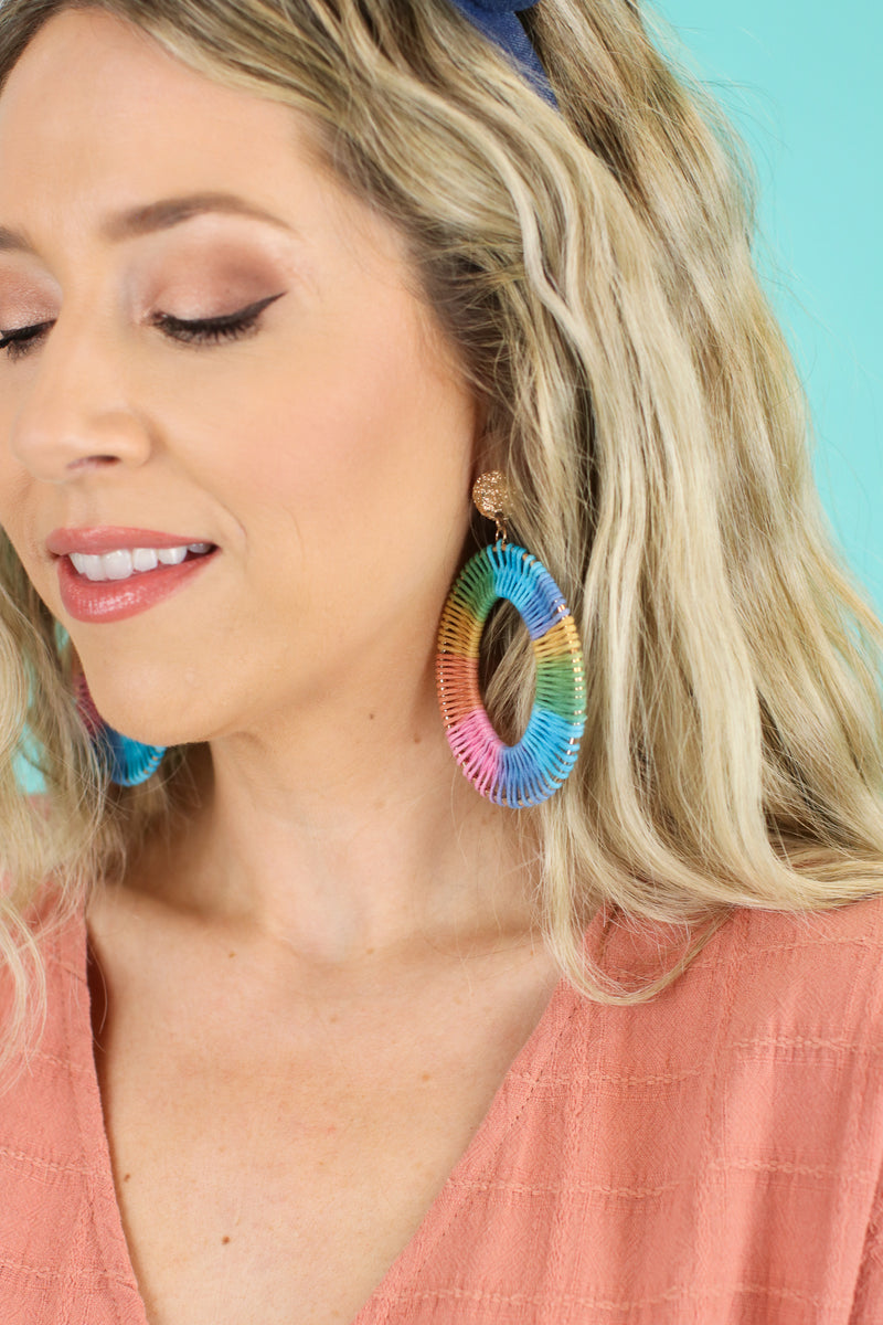 Confectionery Multi Color Drop Earrings - Madison and Mallory