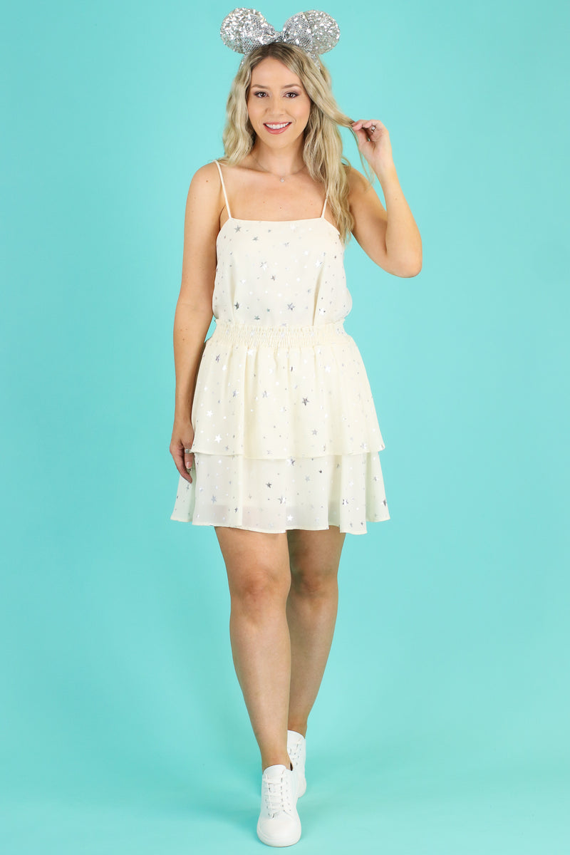 Whimsical Dreams Star Flounce Skirt - FINAL SALE - Madison and Mallory