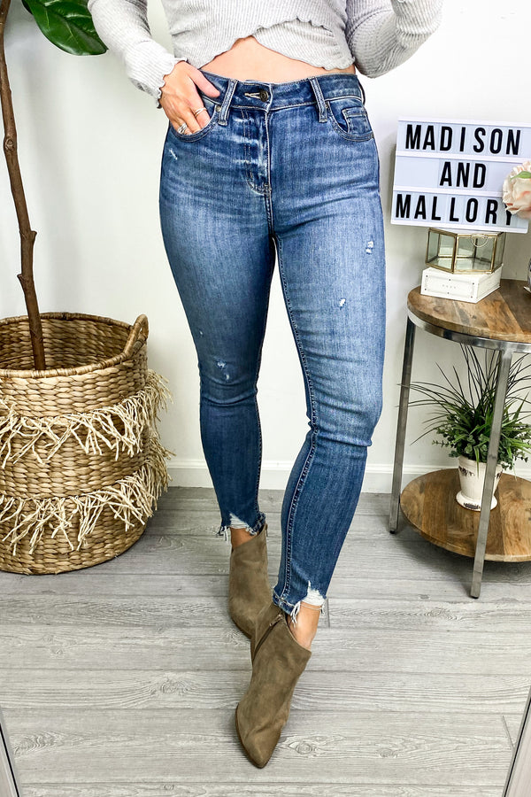 Best Case Scenario High Rise Skinny Jeans - Madison and Mallory