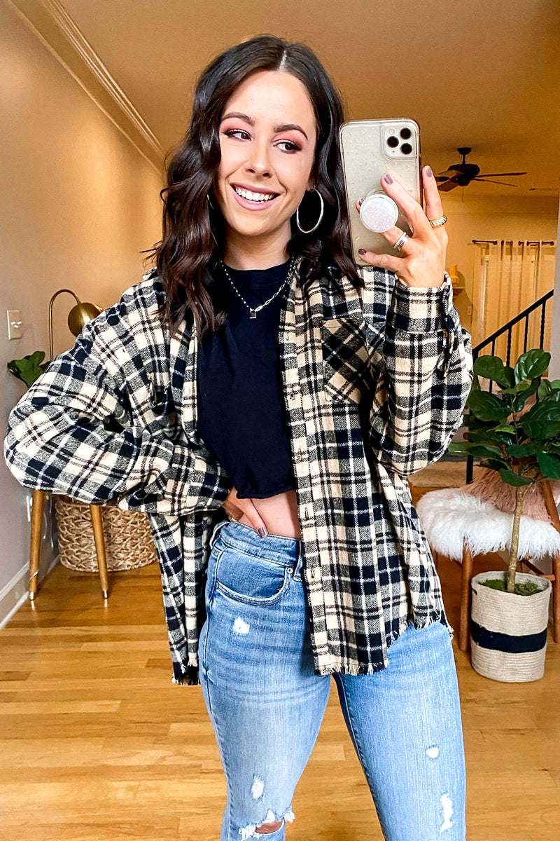 Better Than Basic Plaid Shacket | CURVE - Madison and Mallory