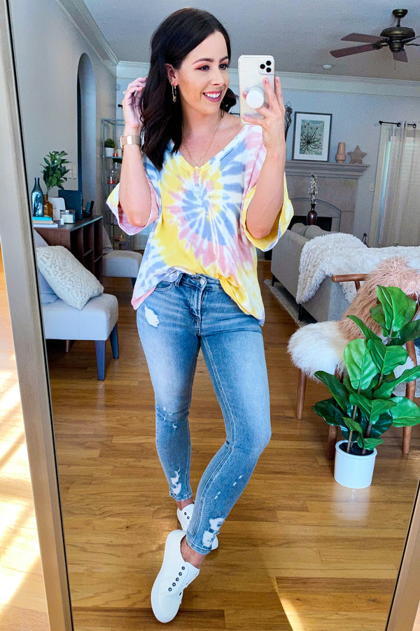 New Generation Tie Dye Swirl Top - Madison and Mallory