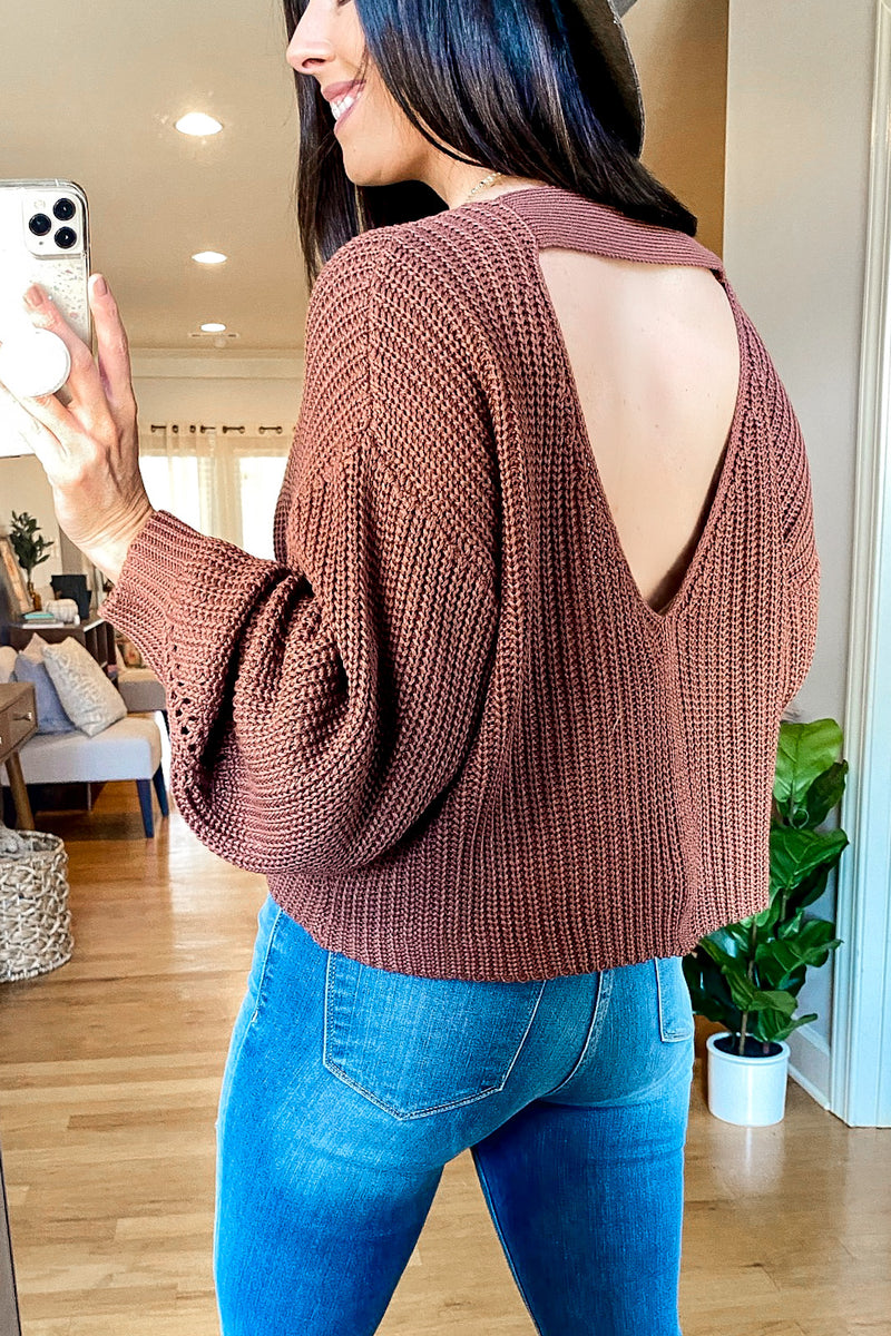 Weekend Ready Slouchy Knit Sweater - Madison and Mallory