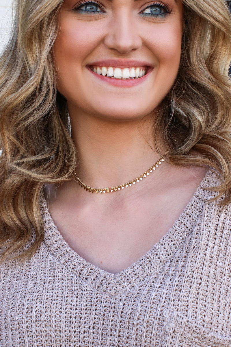 Off the Chain Choker Necklace - Madison and Mallory