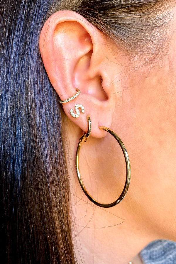 Viviyana Hoop Earrings - Madison and Mallory