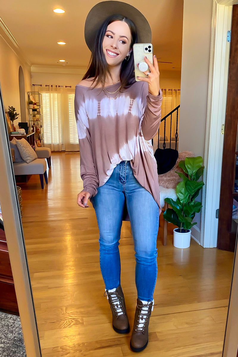 Brescia Bleached Relaxed Top - Madison and Mallory