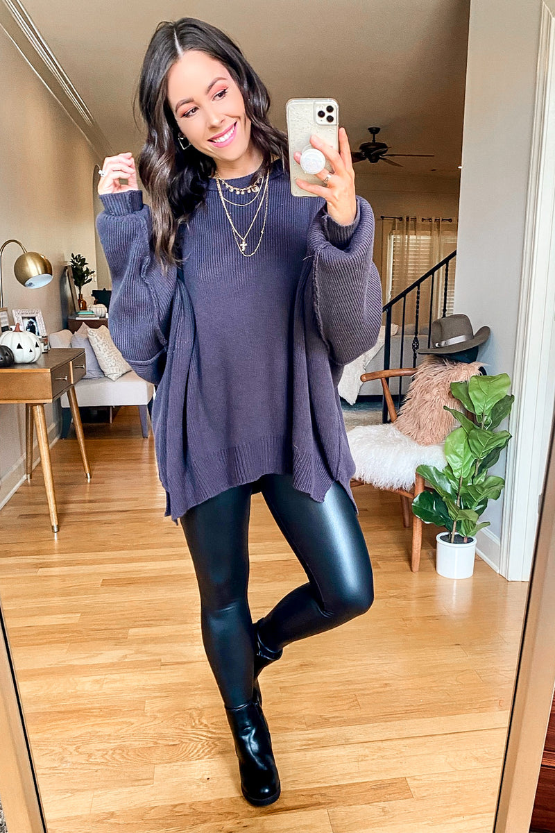 Your One Thing Faux Leather Leggings - Madison and Mallory