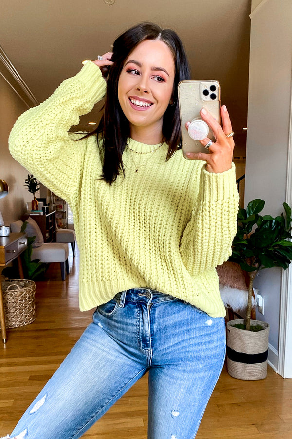 Magnolia Relaxed Fit Sweater - Madison and Mallory