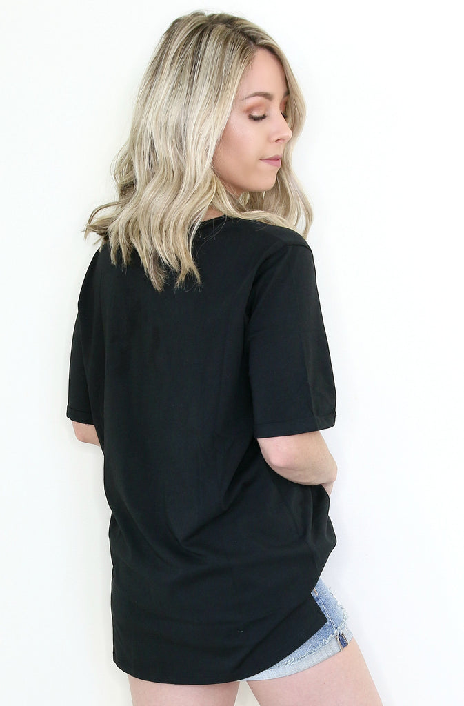 Sequin Detail Tee
