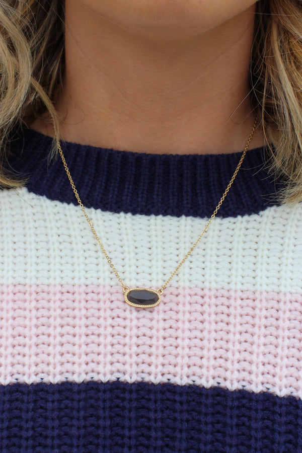 Portia Pendant Necklace - Madison + Mallory