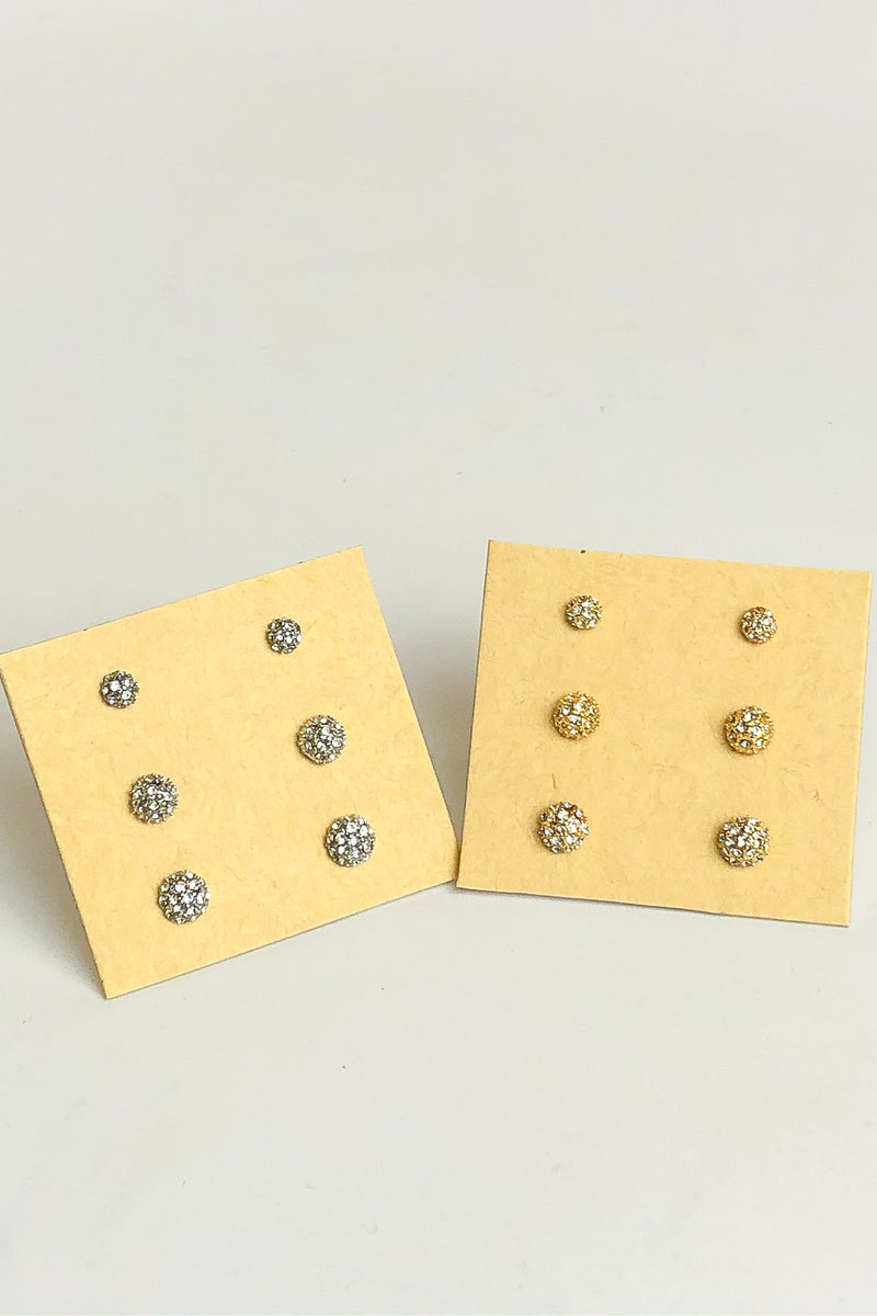 Infinite Possibilities Crystal Stud Set - Madison and Mallory