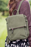 Olive Olive Drawstring Backpack - Madison + Mallory