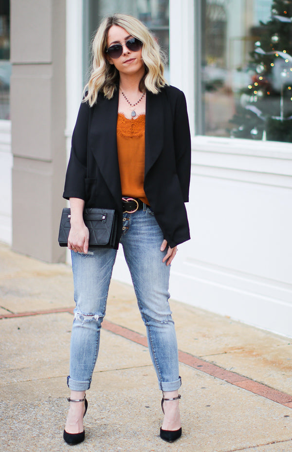 Chic Situations Blazer - Madison + Mallory