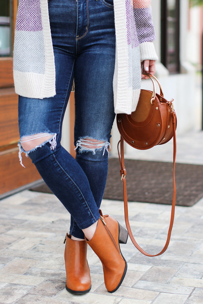 Chic Streets Booties - Madison + Mallory