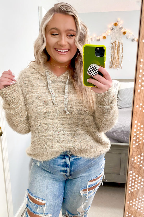 Andalusia Multi Color Hooded Sweater - Madison and Mallory