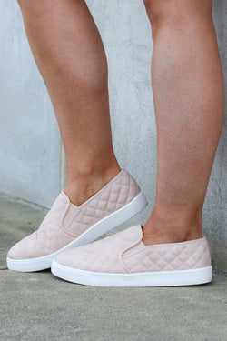 Ahead of Myself Quilted Sneakers - Madison + Mallory