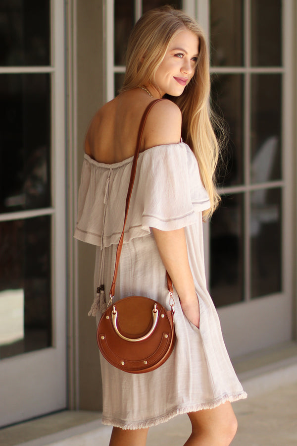 Elsie Studded Crossbody - Madison + Mallory