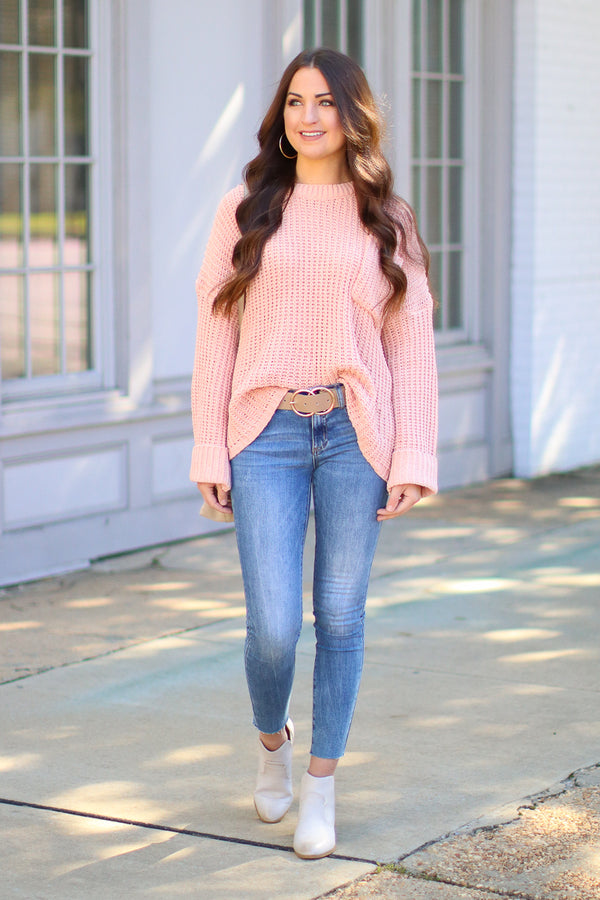 Always Busy Knit Sweater - Madison + Mallory