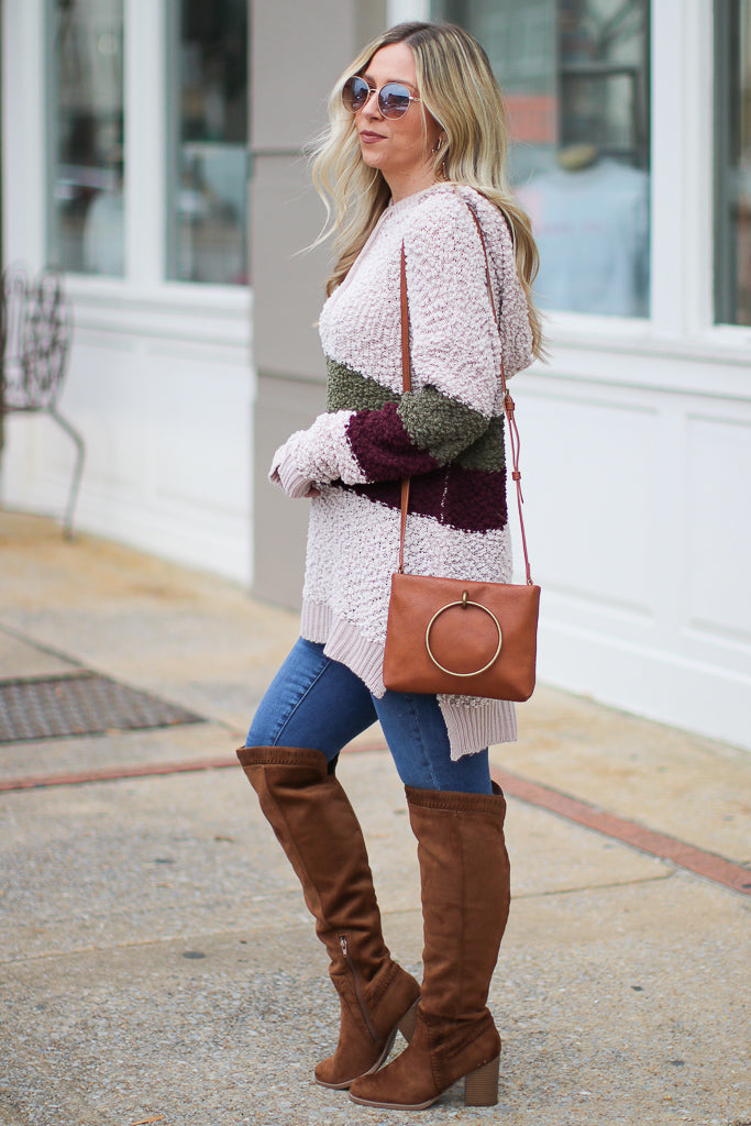 Now and Then Hooded Pullover - Madison + Mallory