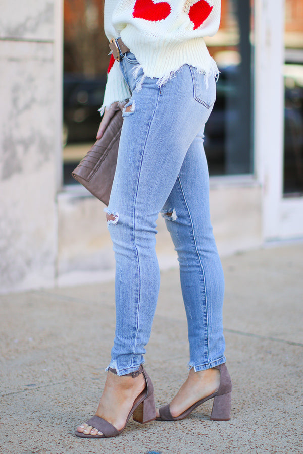 Elias Distressed Jeans - Madison + Mallory