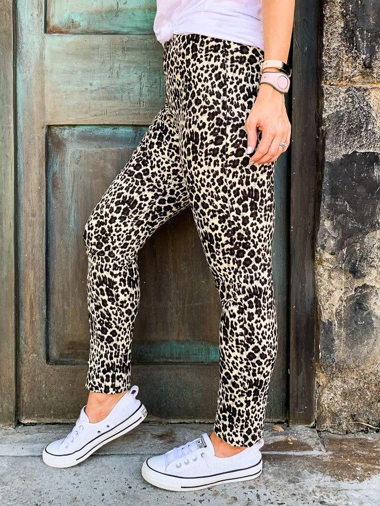 Call You Back Leopard Skinny Jeans - Madison and Mallory