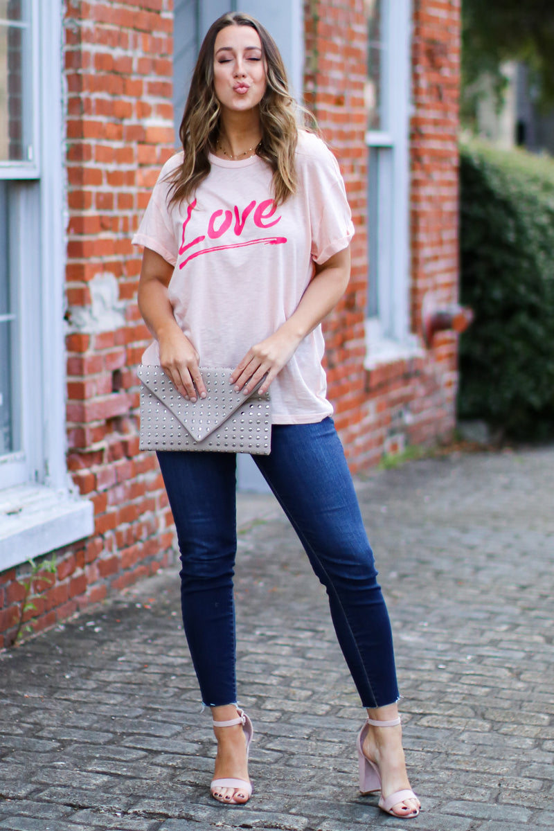 Love Vintage Graphic Top - FINAL SALE - Madison and Mallory