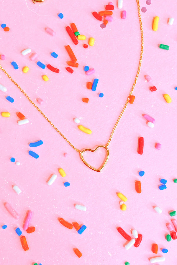 So This is Love Heart Necklace - Madison and Mallory