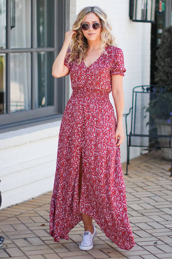 A Million Dreams Floral Maxi Dress - Madison + Mallory