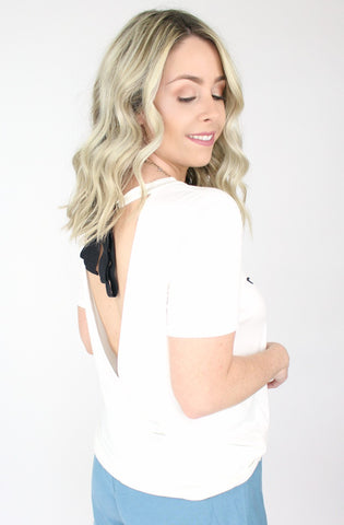 Aloha Beach Open Back Graphic Top
