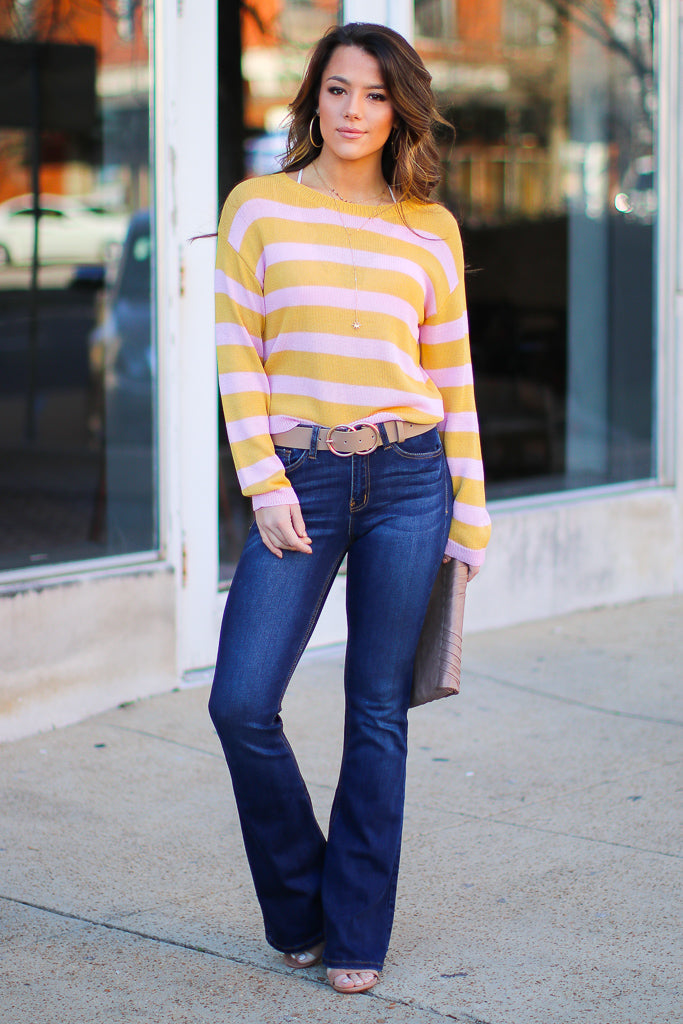 Maia Flare Jeans - FINAL SALE - Madison and Mallory