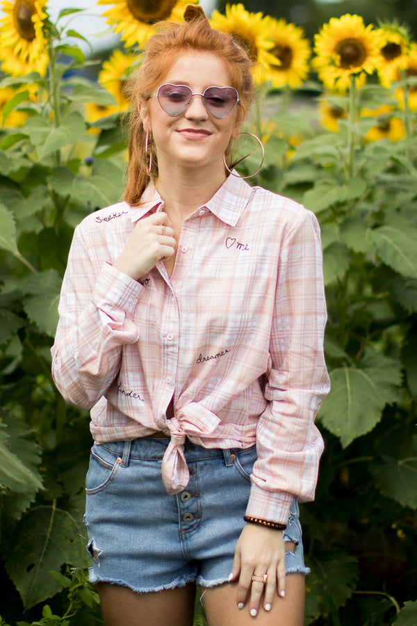 Inspire Me Button Down - FINAL SALE - Madison + Mallory