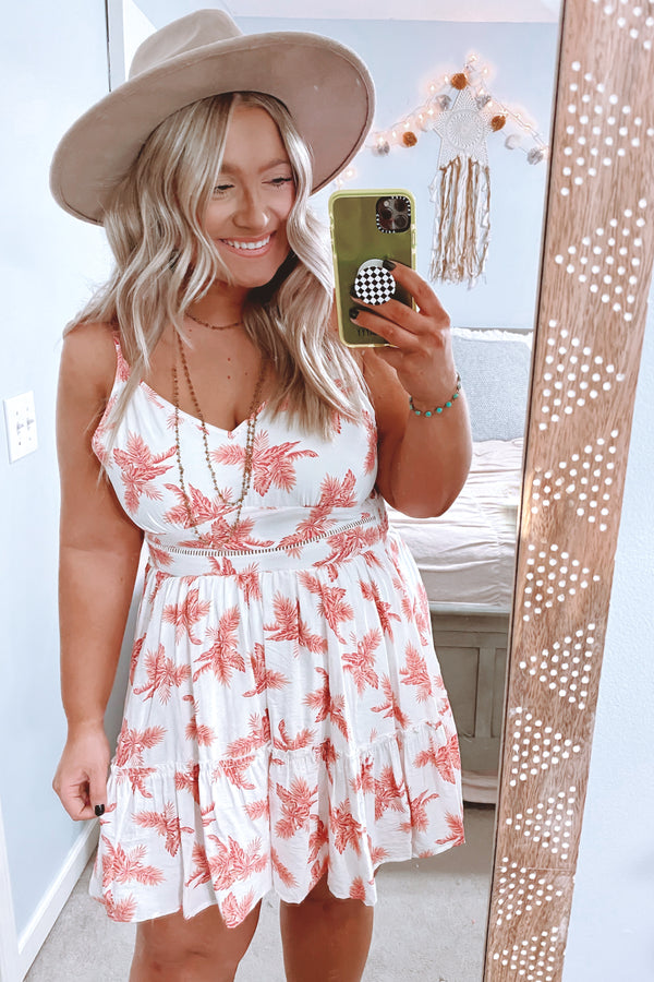 Beleaf Me Print Dress - Madison and Mallory