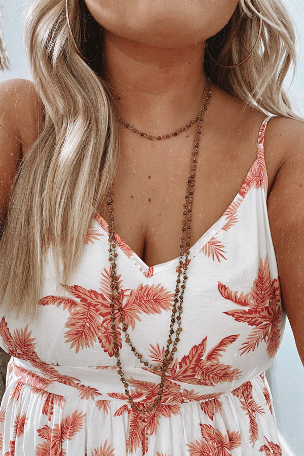 Gold Like a Melody Layered Beaded Necklace - Madison and Mallory