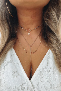 Gold Moment to Spare Layered Necklace - Madison and Mallory