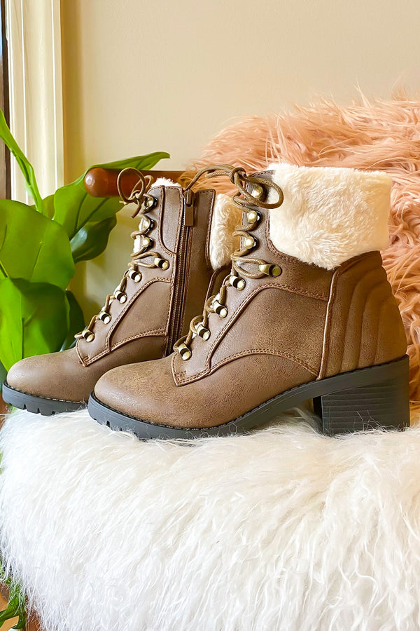 Cozy Steps Faux Fur Boots - Madison and Mallory