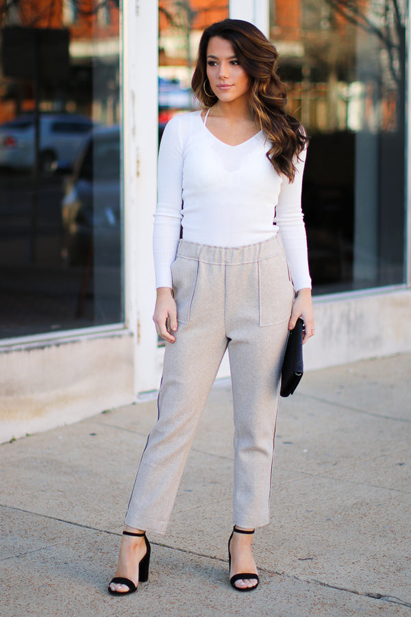 Brooks Knit Pants - FINAL SALE - Madison + Mallory