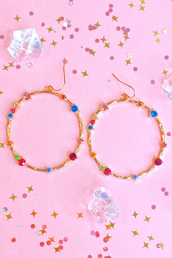 Great Wide Somewhere Rainbow Earrings - Madison and Mallory
