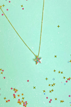 Multi Magic Obsession Multi Color Star Necklace - Madison and Mallory